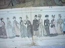 AFFICHE 1899 AGENDA BUVARD DES MAGASINS BON MARCHE LES MODES DU SIECLE