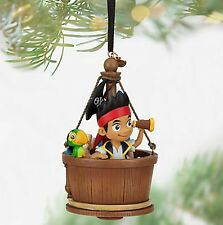 Disney Store Jake and the Never Land Pirates Sketchbook Christmas Ornament