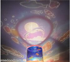 PINK Ocean Master Children Kids Bedroom Night Light LED Lamp (Battery or USB)