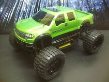 Ford Raptor SVT 4X4 EPX PRO BRUSHLESS 1/10 RC Monster Truck Waterproof w/2s Lipo