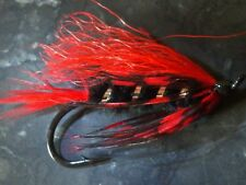 FLY FISHING FLIES SALMON RED WING BLACK BIRD # 4 STREAMER FRONTIER STEELHEAD