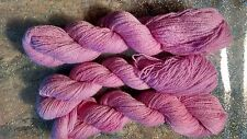 Fifilabonk DUSKY PINK 100% CASHMERE KNITTING YARN 2ply LACE 720yd  WEAVING CRAFT