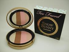TOO FACED SNOW BUNNY LUMINOUS BRONZER BRONZING POWDER, FULL SIZE, CRACKED POWDER