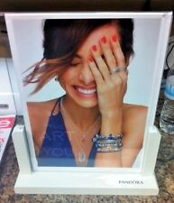 New Authentic Pandora Charm Store sign holder 8 x 10  unavailable to public