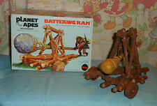 vintage Mego pota PLANET OF THE APES BATTERING RAM in box