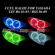 Yamaha R6 2003-2005 / R6S 2006-2009 CCFL Demon Halo Angel Eyes lights rings