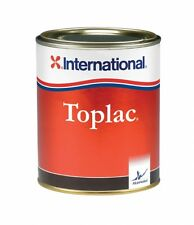 International Toplac narrow boat and yacht exterior paint - RUSTIC RED
