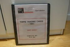 BEATLES TOPPS TRADING CARDS -1965- DIARY SERIES COMPLETE SET #1A-60A