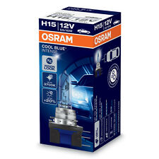Osram Cool Blue Intense H15 3700K Car Headlight Bulb (Single)
