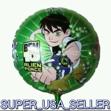 "18""BIG! BEN 10 Foil Balloon Cartoon Game Character Theme Birthday Party Supplies"