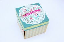 Handmade Birthday Gift Exploding Box Card Love Hearts Customised For him her