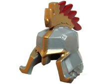 LEGO - Minifig, Headgear Helmet w/ Cheek & Nose Protection, Gold Trim & Crest