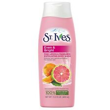 St. Ives Even - Bright Body Wash, Pink Lemon - Mandarin 13.50 oz