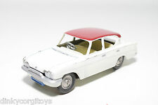 CORGI TOYS 234 FORD CONSUL CLASSIC WHITE EXCELLENT CONDITION REPAINT