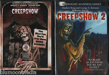 Creepshow 1 & 2 DVD Lot Stephen King George A. Romero widescreen set brand NEW