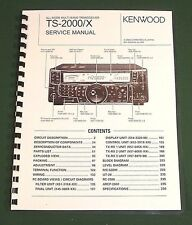 Kenwood TS-2000 Service Manual: Premium Card Stock Covers & 28lb Paper!