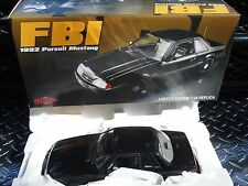 GMP 1992 Ford Mustang FBI Pursuit Limited 1/948 NIB 1:18 Scale Diecast Model Car