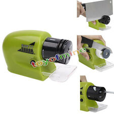 Electric Knife Sharpener kitchen Knives Scissors Motorized Blades Screw Drivers