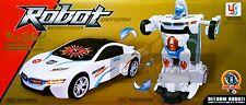 Troopers Transformer Car Deform Robot w/Light & Sound Racing Concept Kids Toy