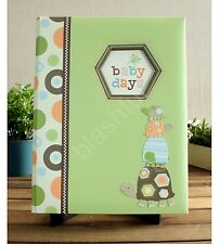 Carters LAGUNA Green Turtles Baby Boy Girl Gender Neutral Memory Keepsake Book