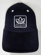 ADIDAS BLACK WHITE CLOTHING SHOES SPORTS SOCCER APPAREL ADVERTISING HAT CAP