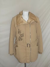 DESIGUAL TRENCH CAPPOTTO COAT GIUBBINO JACKET GIACCA DONNA 42 WOMAN CASUAL G4634