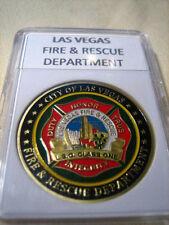 Las Vegas Fire & Rescue Dept Commemorative Challenge Coin