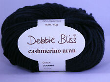 DEBBIE BLISS Cashmerino Aran x 50g ~ Choose Colour