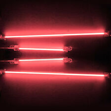New 4 Piece Car Red Undercar Underbody Neon Kit Lights CCFL Cold Cathode