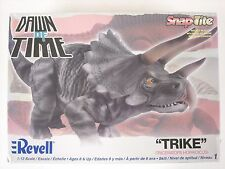 Factory Sealed Revell Dawn of Time Trike Triceratops Horridicus 1:13 Model Kit