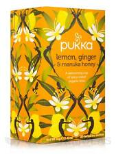 Lemon, Ginger & Manuka Honey Tea - 20 Sachets by Pukka Herbs