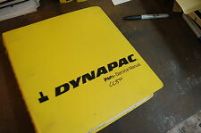DYNAPAC CC50 Roller Compactor Operator Maintenance Service Repair Shop Manual