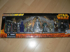 HASBRO STAR WARS REVENGE OF THE SITH COLLECTORS PACK  9 FIGURES MINT IN BOX