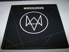 WATCH DOGS  COLLECTOR'S EDITION LIMITED ART BOOK HARDCOVER XBOX ONE SPECIAL