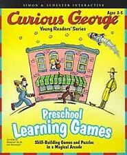 Curious George: Preschool Learning Games Windows Disc Only No Case No Artwork
