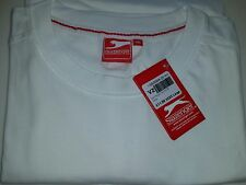 Men's Slazenger TShirt - White - Size 4XL /  XXXXL Big Plus Size. Teeshirt