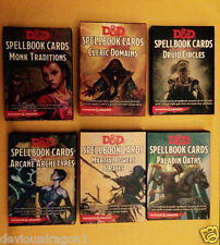D&D 5E Expansion Spellbook Decks Dungeons & Dragons 5th Edition