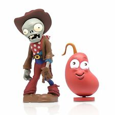 "Zoofy Plants Vs. Zombies 3"" Cowboy Zombie Action Figure with Chili Bean Toy NIP"