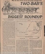 Moffat County, Colorado - Two Bars Cattle Roundup+FitzPatrick