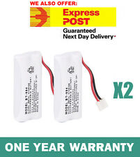 NEW Cordless Phone Battery 2x For Uniden BT-694, BT-694S Ni-MH 800mAh 2.4V