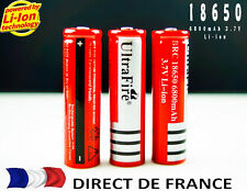UNE PILE  SUPER UNE PILE 18650 6800 mAh 3.7v BATTERY LI-ION RECHARGEABLE AKKU