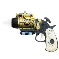 Steampunk Gun Revolver Vintage Victorian Fancy Dress Costume Prop
