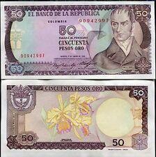 Colombia 50 Peso 1985 P 425 Unc