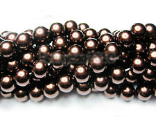 Lots Czech Glass Pearl Round Loose Charms Spacer Beads Jewelry Making 3 mm-14 mm