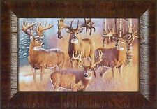 THE 300 CLUB KING OF BUCKS COLLECTION by Cynthie Fisher 11x15 FRAMED ART PICTURE