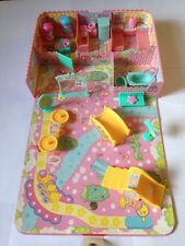 Sanrio Little Twin Stars Kiki & Lala Vintage 2003 Home Dollhouse Playset
