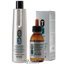 S3 T3 Anti Hair Loss Kit Echos Line ® Anticaduta Shampoo 350ml + Lotion