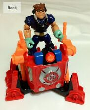 Rescue Heroes Automatic Walking Vehicle with Sound and Action Figure.