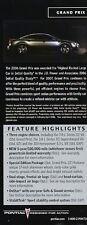 2007 Pontiac Grand Prix Highlight Original Car Brochure