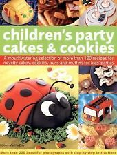 Children's Party Cakes and Cookies: A Mouthwatering Selection Of More -ExLibrary